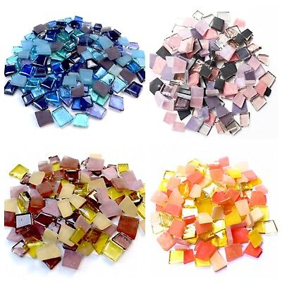Mosaic Tiles - Mix of Sea Glass, Transparent Glass & Beach Glass - 200g
