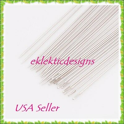 Darning 25 Beading Needles 2 in rigid steel KIT003 Size 10 Sewing Needles