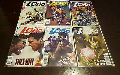 Lobo new 52 twelve issue lot