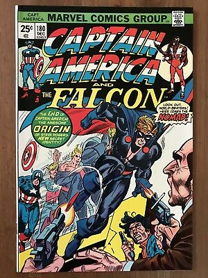 Captain America 180 (1974, Marvel) 1st Appearance Nomad Avengers Infinity War NM
