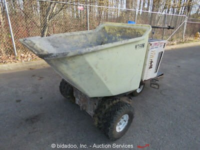 Miller MB 16/21 Ride-On Concrete Dump Buggy Honda GX-390 13HP 16 Cu Ft bidadoo