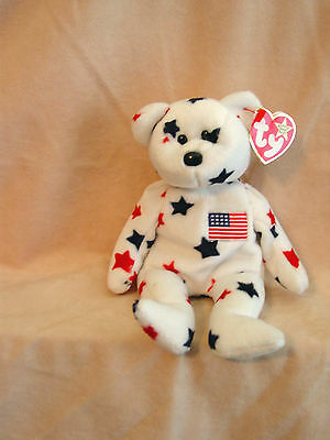 "TY -  ""Glory"" Teddy Bear  Beanie Baby Complete with Tags"