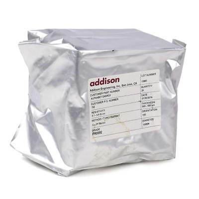 Addison 4 Inch (100mm) Prime P/Boron SSP Silicon Wafer 16 pack