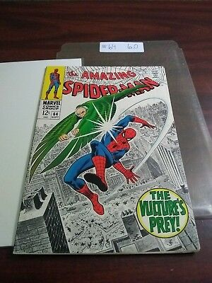 The Amazing Spider-Man #64 (Sep 1968,  ) 6.0 Silver Age