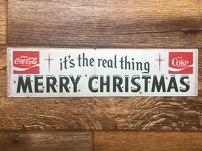 Vintage Coke Christmas Sticker