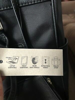 kenneth cole reaction call it off 17' laptop bag