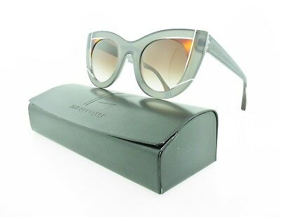 Brand New Authentic Thierry Lasry Wavvvy Sunglasses 704 Crystal Grey / Grey