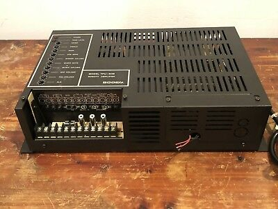 Bogen Model TPU-60B 60 Watt Telephone Paging Amplifier