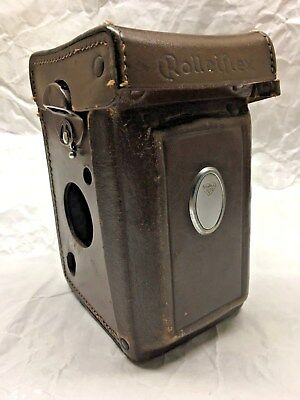 Rollei Genuine Eveready Camera Case For Rolleiflex 2.8F / 3.5F Made In Germany