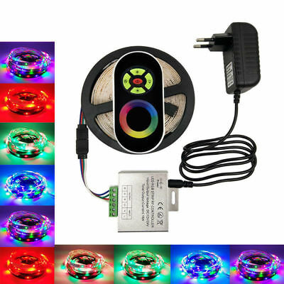 2835 RGB LED Strip RGB Led tape with RF Touch Wirless Dimmer Controller Full Kit