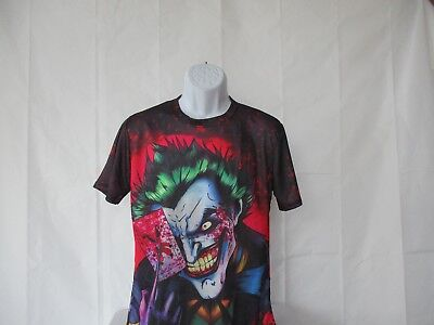 Joker - 3D Big Graphic Colorful Harajuko Shirt - Asian Sizes M to 4XL - NEW