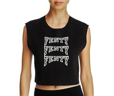 Puma By Rihanna - Sexy Fenty Crop Top Muscle Tee!   Sz Xs   Retail $70   Nwt!