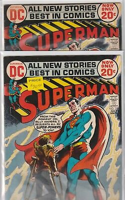 Superman Lot 2X #254, Billy Anders
