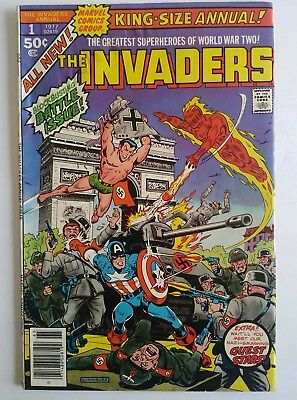 The Invaders King Size Annual #1 (1977, Marvel)
