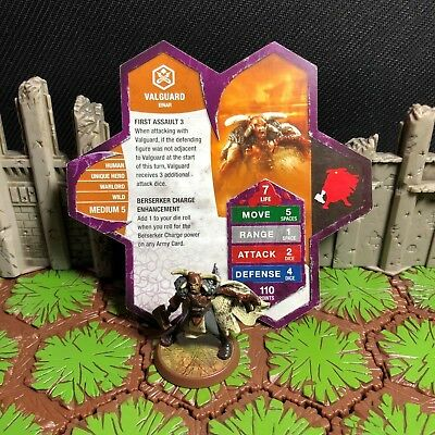 Heroscape Figure: Valguard w/card from Zanafors Discovery