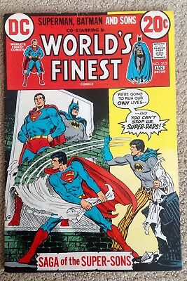 World's Finest Comics #215 (1972/73)  1st App. of Super-Sons!  PRICED TO SELL!