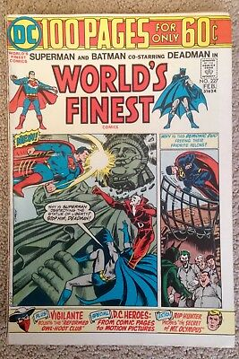 World's Finest Comics #227 (1975) 100 Pages  Deadman Appearance! PRICED TO SELL!