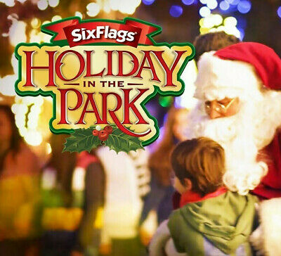 Six Flags New England Holiday In The Park Tickets Savings A Promo Discount Tool