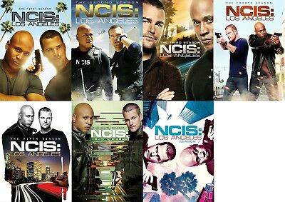 NCIS LA Los Angeles Complete ALL Seasons 1-7 DVD Set Series Collection Show Lot
