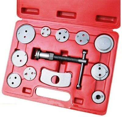 Car Truck Mechanics Disc Brake Caliper Wind Back Tool Universal Kit Piston Pad