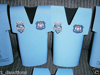 1 X Nrl State Of Origin Nsw Blues Jersey Stubby Holder Official Product