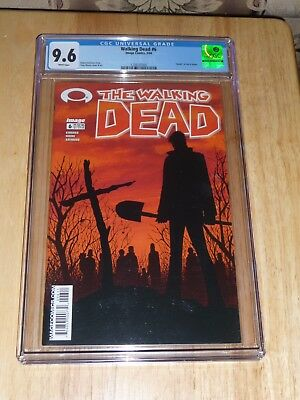 "Image Comics ""the Walking Dead"" #6 - Key Issue, Deaths Of Jim & Shane - Cgc 9.6!"