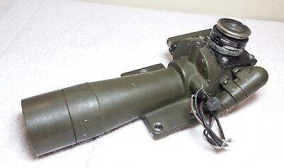 US Army Artillery Spotting Scope 4 Color Lighted Elbow Telescope