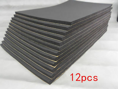 24 Sheets 10mm Car Van Sound Proofing Deadening Insulation Closed Cell Foam UK