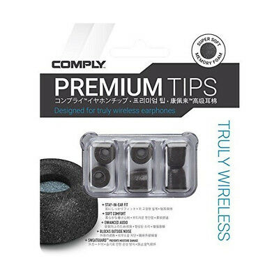 Comply Foam Universal Truly Wireless Pro TWX Series Wax-Guard 3-Pair Pack VS TM