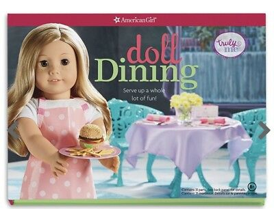 American Girl Doll - Doll Dining Kit BNIB