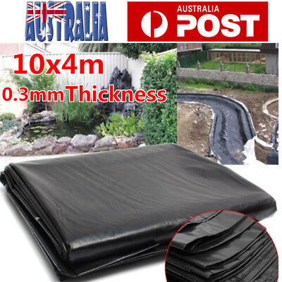 10X4M Fish Pond Liner Garden Pools HDP EMembrane Reinforced Guaranty Landscaping