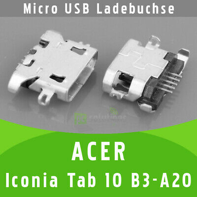 Acer Iconia One 10 B3-A20 Micro USB DC Buchse Ladebuchse Strombuchse - Original