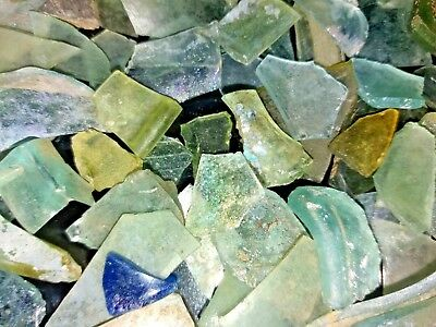 Lot Roman Glass Ancient Fragments Patina Caesarea Maritima  Israel 50g
