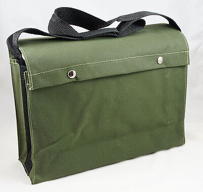 Canvas Crib/Tool Bag with Webbing Shoulder Strap - MADE IN AUSTRALIA