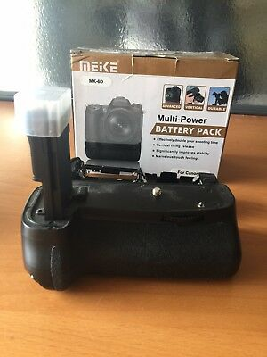 Canon 6D Battery Grip + LED Light