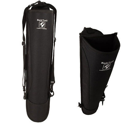 Buck Trail - Traditional Adventure Back Quiver - Black