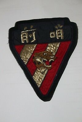 Superb Avg Flying Tigers 76Th Fighter Squadron Patch Bullion Wire