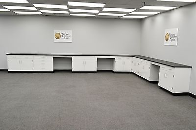 4' x 15' Base laboratory Furniture Fisher Cabinets /Case Work / Benches /Tops.