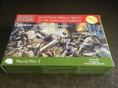 Plastic Soldier Company 1/72  Late War US Infantry 44-45. Battle group Wargames
