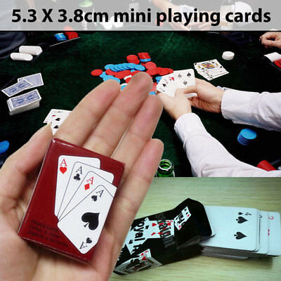 Fun Mini Poker Cards Mini Poker Doll House Accessories Doll'S Toys Paper