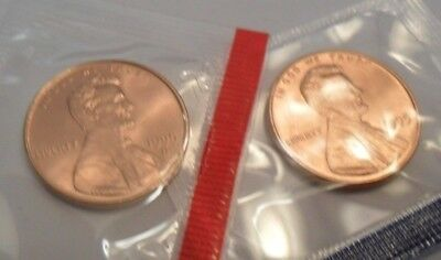 1995 P & D Lincoln Memorial Cent / Penny Set *MINT CELLO*  **FREE SHIPPING**