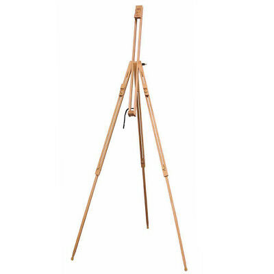 Artist's Wooden Travel Tripod Field Sketching & Painting Studio or Outdoor Easel