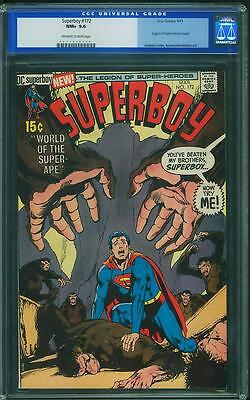 Superboy #172 CGC 9.6 OWTW Pages