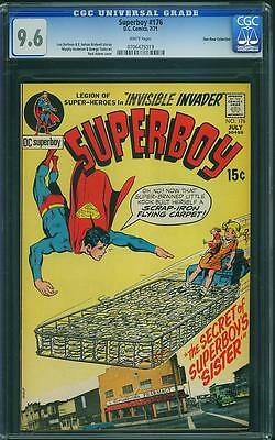 Superboy #176 CGC 9.6 White Pages Don Rosa Collection