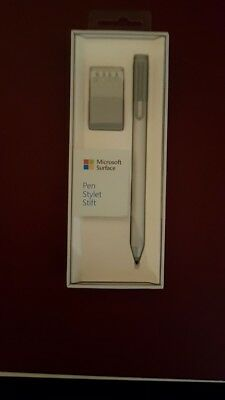 Microsoft Surface Pen Stift Surface 3 , Pro 3/4 , Book inkl. Tip Kit Silber