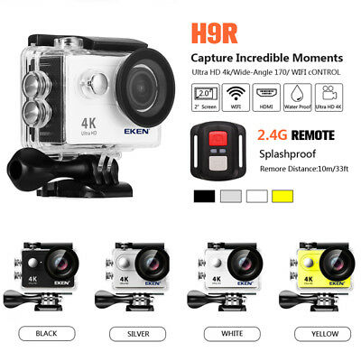 Original EKEN H9 H9R Waterproof WiFi Sport Action Camera 4K HD Helmet Camcorder