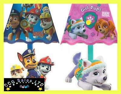 Official Paw Patrol Chase Marshall And Rubble Or Skye And Everest LED Wall Lamp