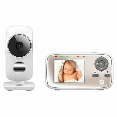 """Motorola 2.8"""" Video Baby Monitor with Wi-Fi - MBP667CONNECT     F2"""