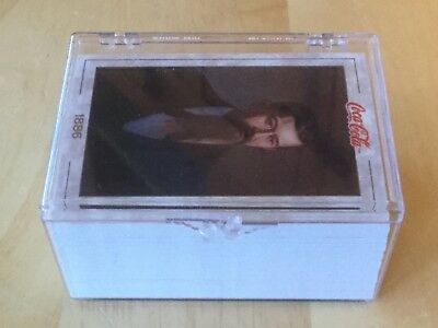 Coca Cola Trading Card Collection, 1993. 100 Cards. Plastic Box. Series 1.
