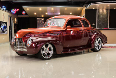 1940 Chevrolet Special Deluxe Coupe Street Rod Custom Coupe! GM 427ci V8, Auto, Wilwood Disc, PB, A/C, Coilovers, Steel Body